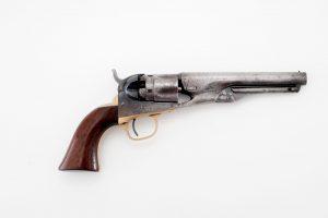 antique Colt 1862 pocket police revolver