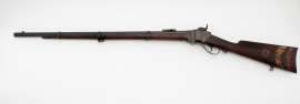 1863 New Model Sharps Rifle Identified rare antique painted inscription