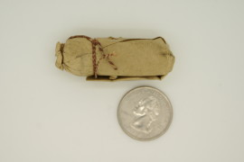 American Civil War era paper musket cartridge antique Salt Lake City store