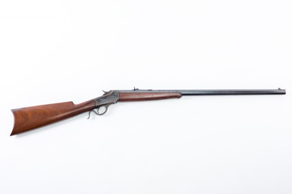 1885 Winchester Lo-Wall rifle # 2 heavy barrel 32 WCF John M. Browning design antique 19th century