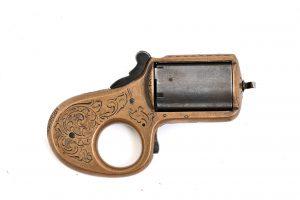 knuckler .32 rimfire 5 shot engraved Catskill, New York original