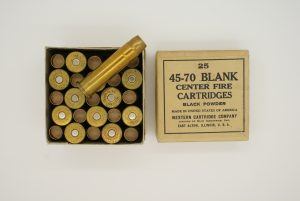Western 45-70 caliber black powder blank cartridges 2 piece box ''A7CE31H''
