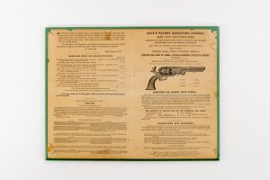 London Colt's Patent Repeating Pistols advertising broadside Dragoon pocket pistol