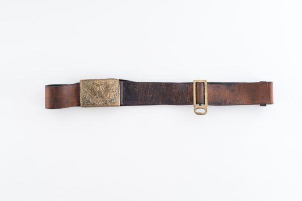 sword belt leather gold gilt Indian wars antique old original authentic eagle plate