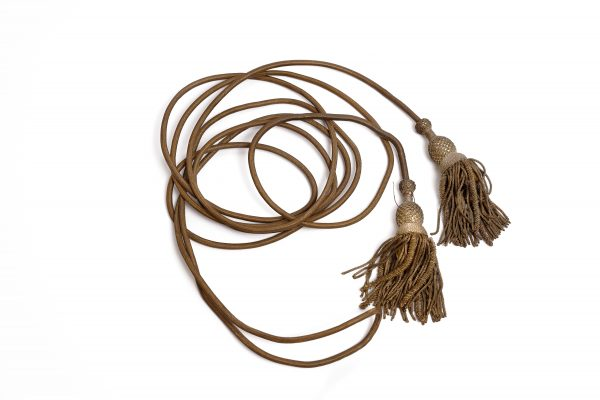 Battle flag gold bullion knots tassels flag staff cords antique authentic Civil War Union